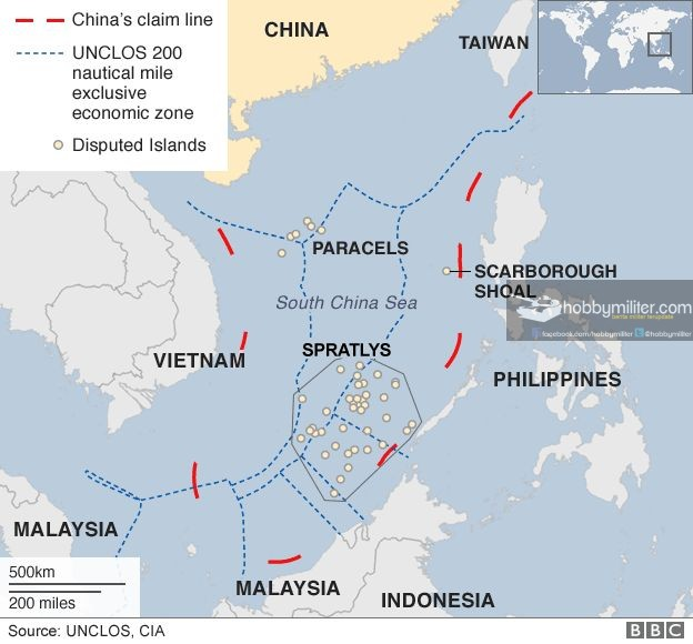 Claim On South China Sea