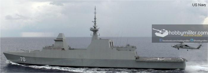 Seri Kapal Perang Utama di ASEAN : Formidable Class Frigate Andalan Singapura