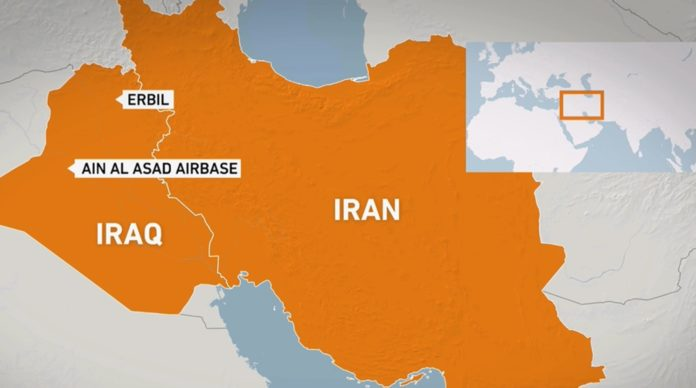 Perang Amerika vs Iran Dimulai? Rudal Iran Serang Pangkalan Amerika di Irak