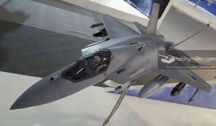 Pesawat tempur KAI KFX - IFX