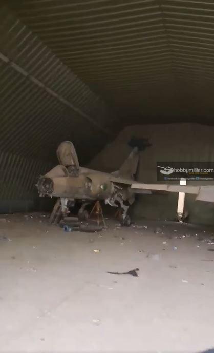 Konflik Libya: Foto Foto Eks Pangkalan Udara Libya Yang Direbut GNA Dari LNA Haftar. reruntuhan Mirage F-1.