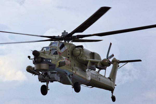 Mengenal Mi-28 UB, Helikopter Tempur Latih AU Russia
