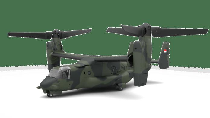 Bell V-22 Osprey PENERBAD