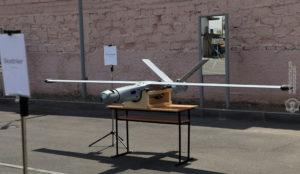 Drone Azerbaijan yang dijatuhkan oleh Armenia